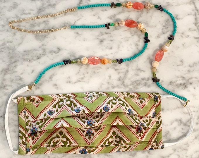 Healing Gemstone Mask Chain (preorder)
