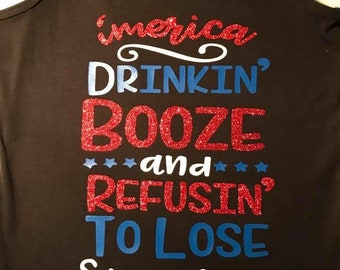 4th of July 'MERICA Drinking Booze & Refusing to Lose since 1776
