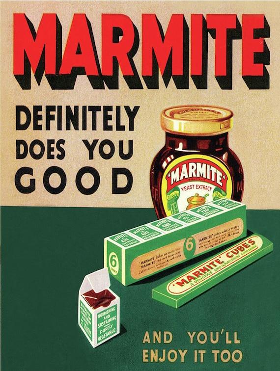 Marmite Fridge Magnets