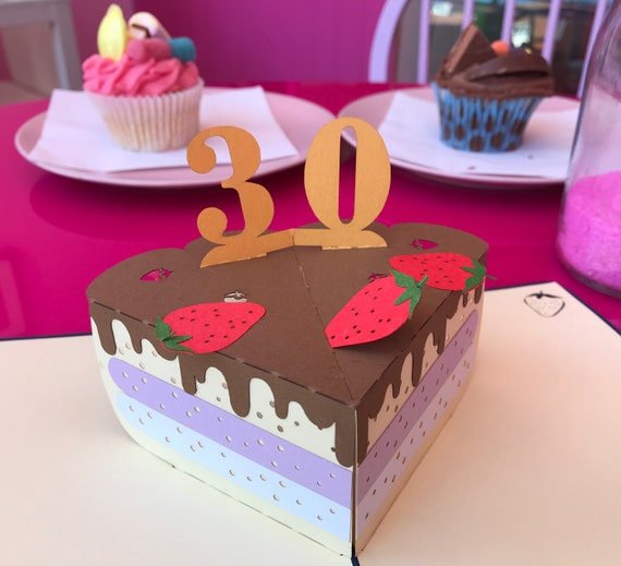 30th Birthday Pop Up CardBirthday