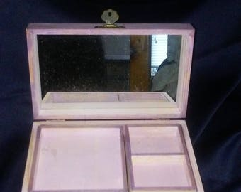 Lavender and Berries Jewelry Box