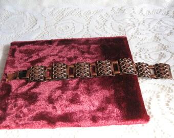 Vintage Copper Bracelet - 1960's - Mid Century