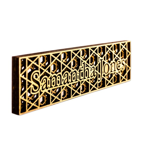 Desk Accessories Mendesktop Giftshome Desk Accessorypolice Gift Ideasgift For Bossesnameplategift For Wifexmas Giftgroomsmen Giftgi