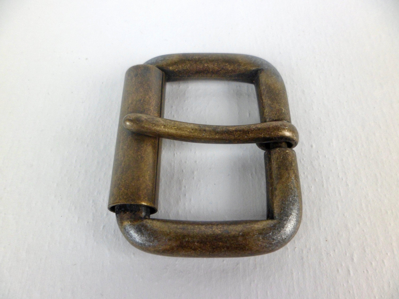 Métal Rouleau boucle rectangle Tri-Glide Buckle À faire soi-même Ceinture à coudre bronze 25 mm