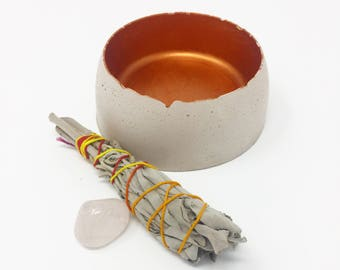 Concrete Jewelry Bowl/Clutter Collector