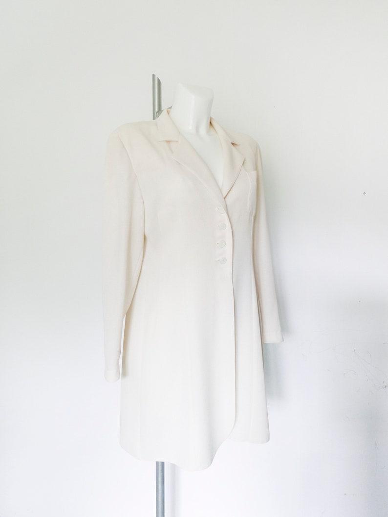 ad0c95666c8a Chic cream color cream Blazer-elegant clothes-Vintage Beige | Etsy