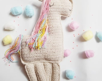 Free Crochet Unicorn Pattern - Red Ted Art - Make crafting with ... | 270x340