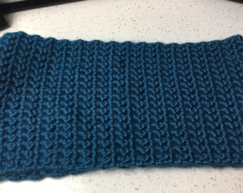 Solid blue head band