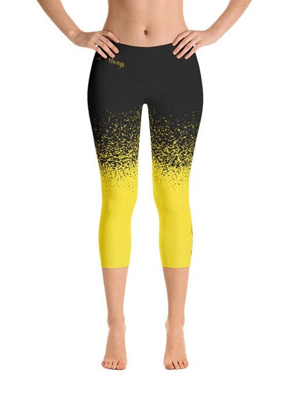 Bee Leggings Yoga Leggings Yoga Pants Bee Burning Man Etsy