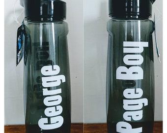 Page boy water bottle