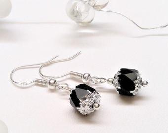 Barock Perlen Ohrringe 925 St. Silber