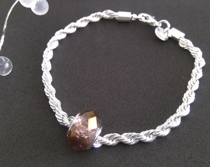 925 Silber Armband in Pandora Style
