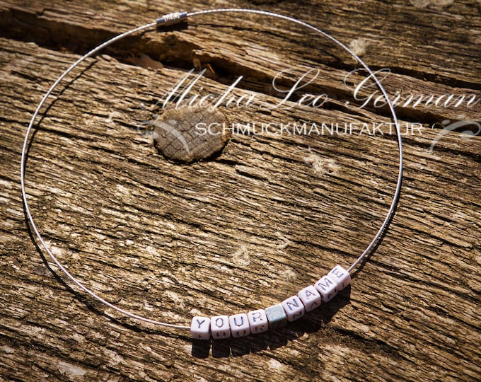 YOUR NAME Edelstahl UNISEX Collier
