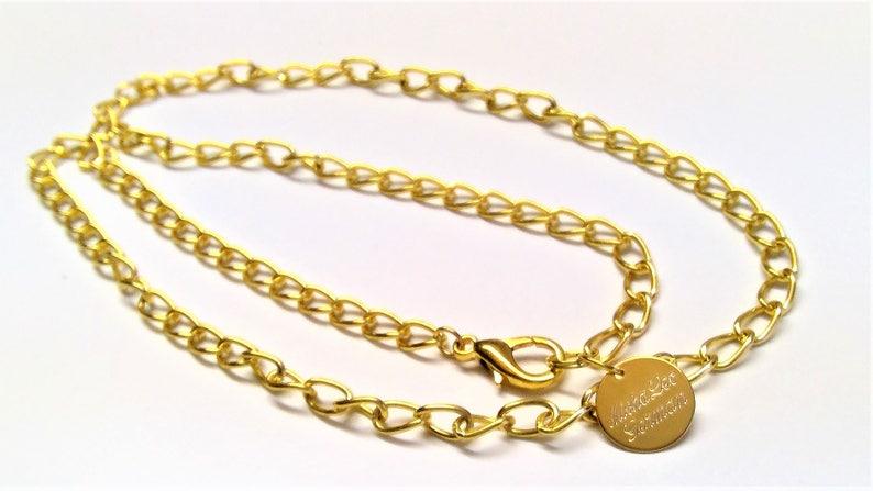 c580efa42b Halskette Goldkette 22k vergoldet 60 cm lang für Herren | Etsy