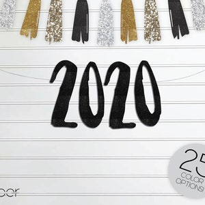New Years Eve nye Engagement Birthday Wedding Party Decorations Bridal Shower WHEN the CLOCK STRIKES 12 Banner Garland Sign