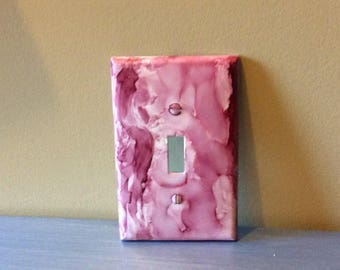 Cranberry Light Switch Cover