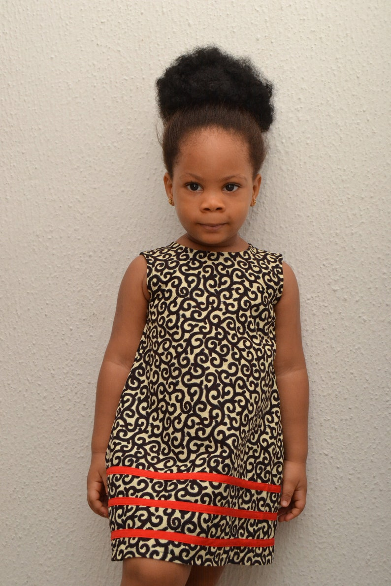 Ankara Kiddie Dress African Inspired Girl S Dress Etsy