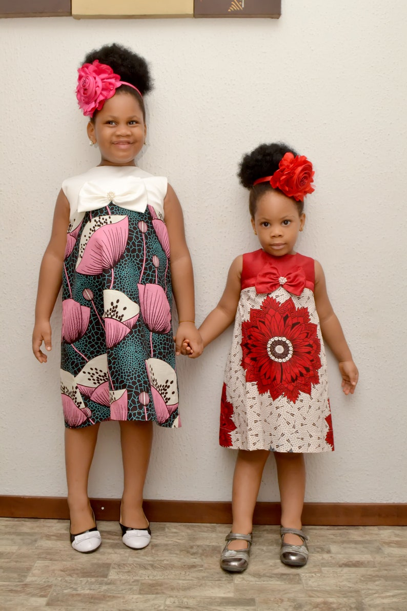 African Inspired Dress African Fashion African Style Ankara Etsy
