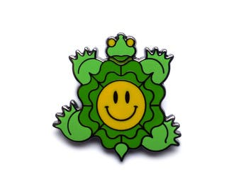 Turtle of Joy Enamel Pin
