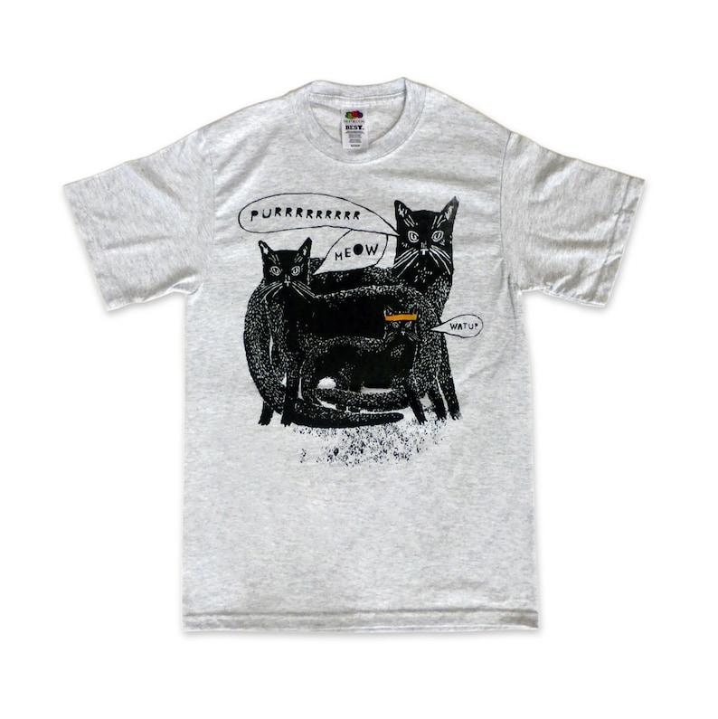 Watup Cat Shirt Clearance image 0
