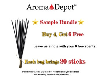 2216b9eeb8e5 20 Incense Sticks Freshly hand dipped in premium quality fragrance oil Buy  4