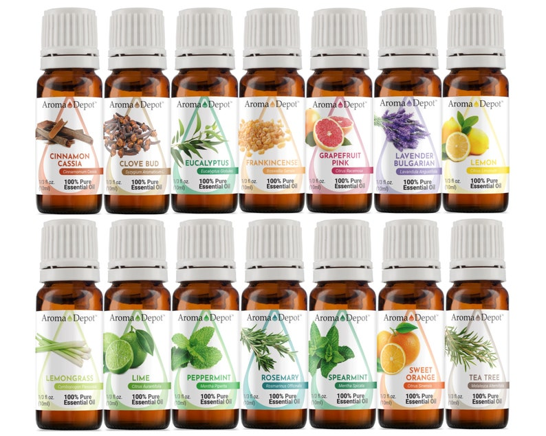 Essential Oil set  14 Set  100% Pure Undiluted Therapeutic image 0