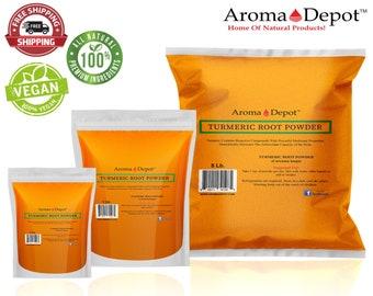 Turmeric Root Powder Pure Natural Curcuma Longa Turmeric Spice From India
