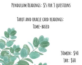 Tarot Readings & Divinations