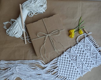 Diy kit etsy quick view macrame kit crafts gift idea macrame pattern diy solutioingenieria Images