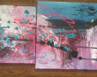 Abstract painting - Defiance