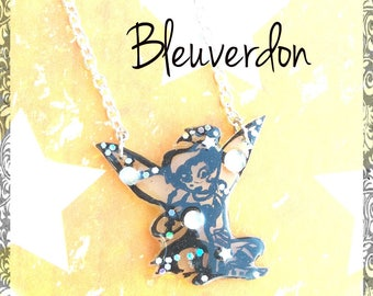 Inspired by Tinkerbell fairy necklace
