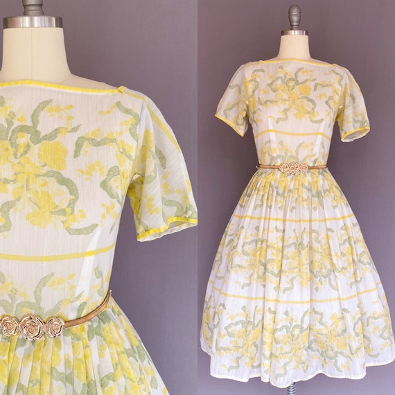 1950's L'Aiglon Dress