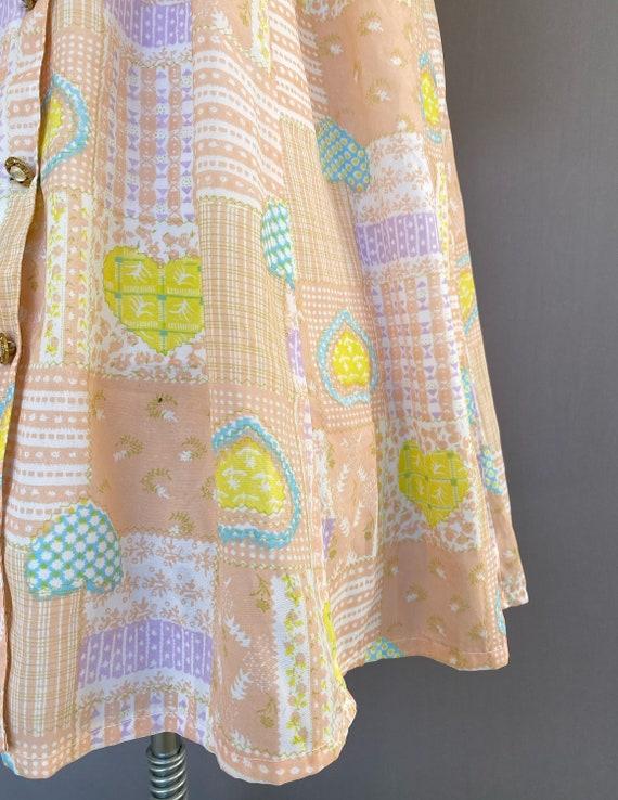 Vintage novelty print dress - vintage Japanese dr… - image 2