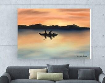 Giclee Prints, Canvas Prints, Landscape Painting, Original Painting, Wall Art Print, Giclee Art Landscape, Abstract Landscape, Wall Art