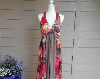 Festival Halter Maxi Dress