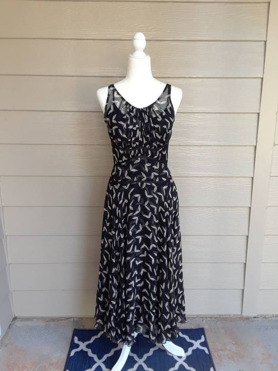Charles Chang Lima Silk Dress