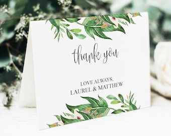 Wedding Thank You Template, Wedding Thank You, Thank You Card, Thank You Template, Template, Thank You Cards, Printable Thank You, BD6044