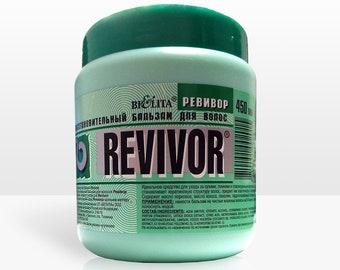 """Restorative balm for hair """"REVIVOR"""" • Hair balm • Hair conditioner • Hair moisturizer • Hair cream • Natural conditioner • Hair treatment"""
