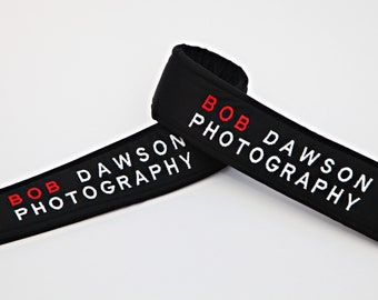 Double Sided Logo Camera Strap