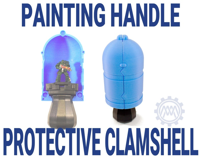 Protective Clamshell for Citadel Paint Holder image 0