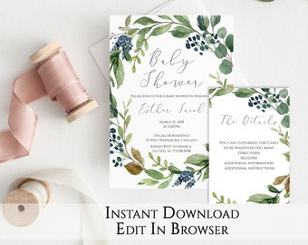 Garden baby shower etsy best selling items favorite favorited add to added garden baby shower invitation filmwisefo