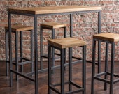 BestLoft Bar Table Sets with or without Bar Stool Table Bar Table Counter Table