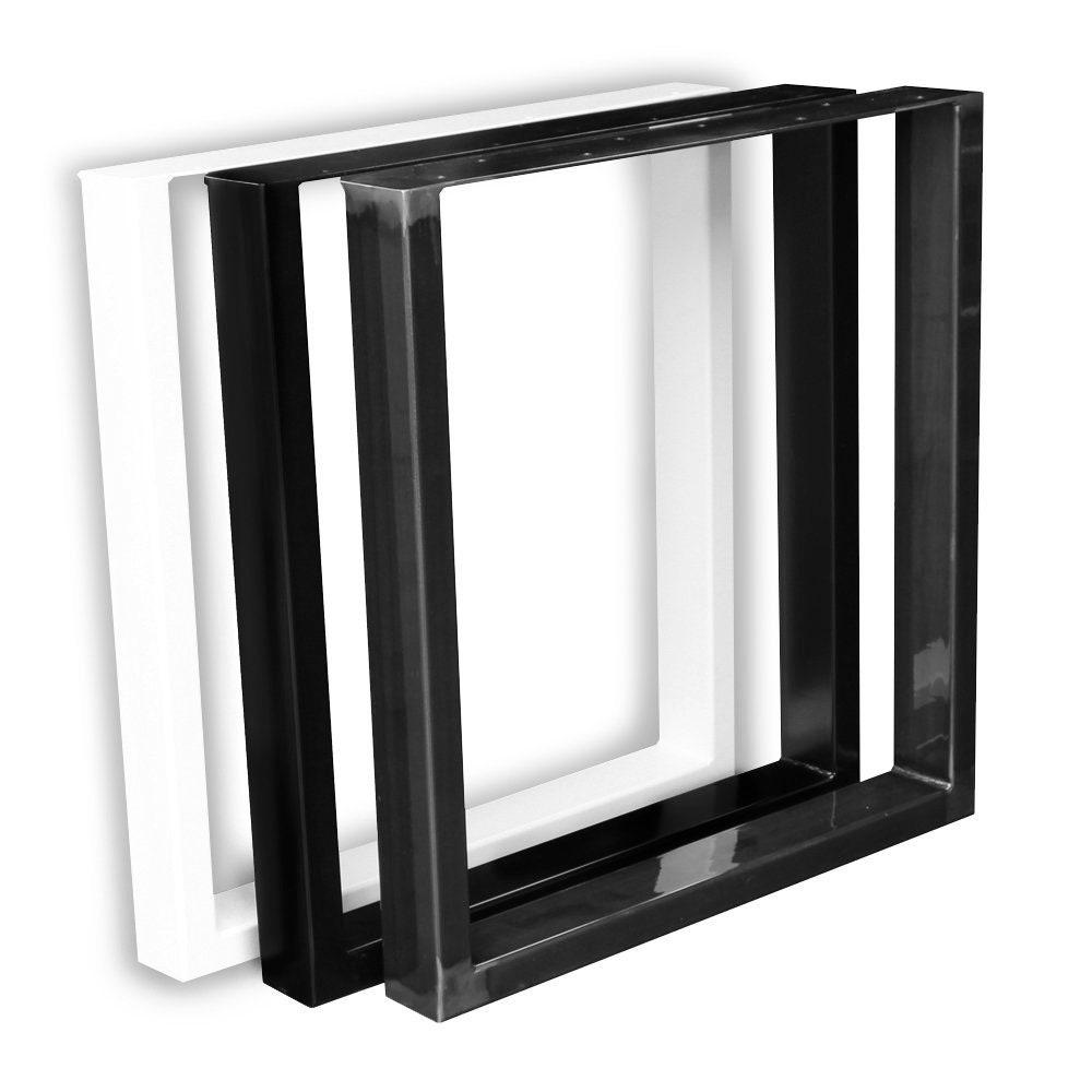 Schwarz Rückenlehnenhalter Bankkufen Sitzbank Lehnenhalter Hocker  60 x 8 mm