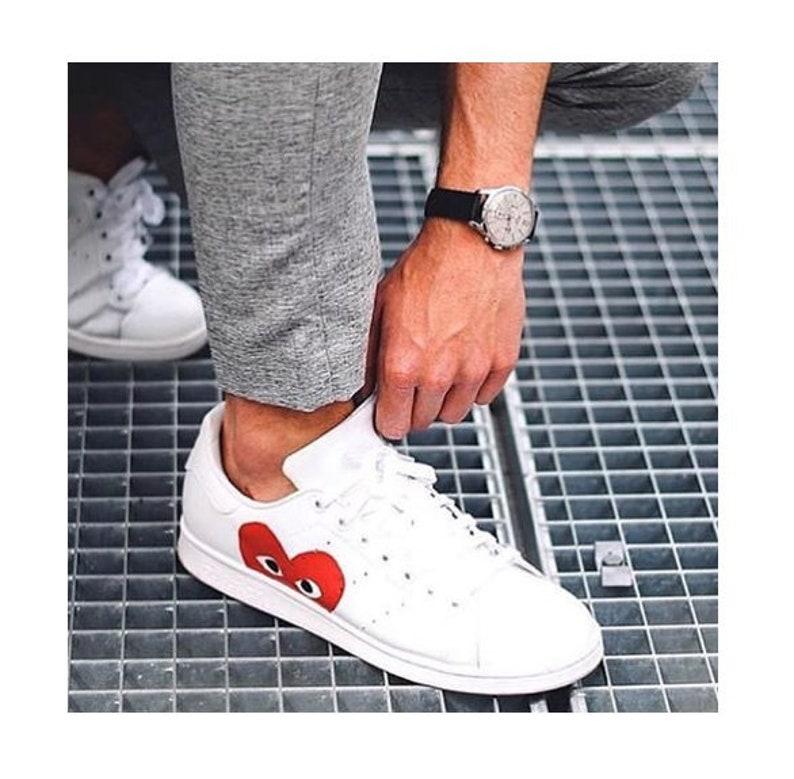 Adidas Stan Smith CDG CUSTOM  63f22d264