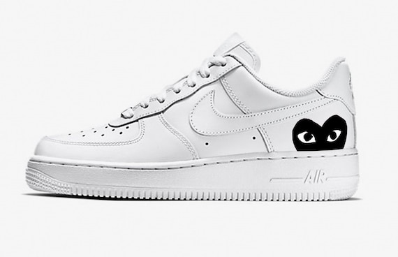 Nike Air force 1 black CDG CUSTOM