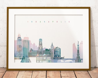 Popular Items For Indianapolis Skyline