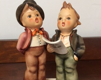 "Hummel Figurine ""Duet"" #130 TMK5"