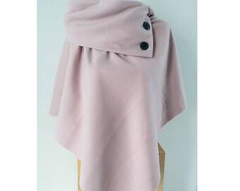 Powder Pink poncho