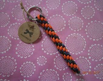 Peppermint Twist Key Fob/Chain
