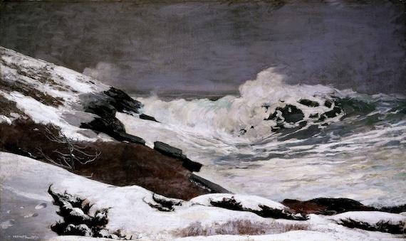 Winslow Homer Prints Lumbering in Winter Fine Art Print